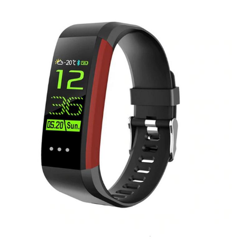 Ziskoun Fitness náramek CK16 s barevným OLED displejem- 3 barvy SMW00028 Barva: Červená
