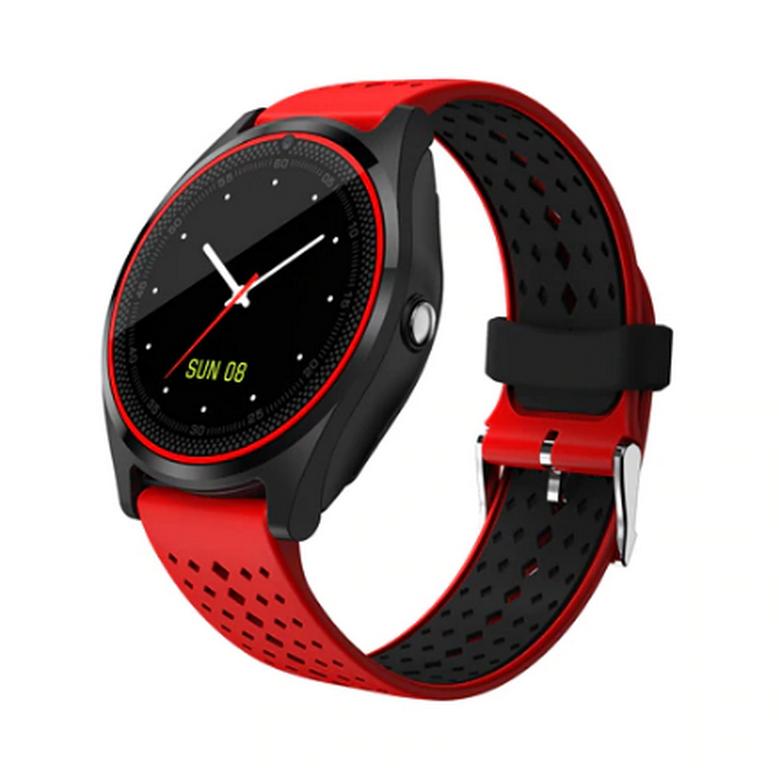 Ziskoun Smartwatch V9- 6 barev SMW38 Barva: Červená- spodní černá