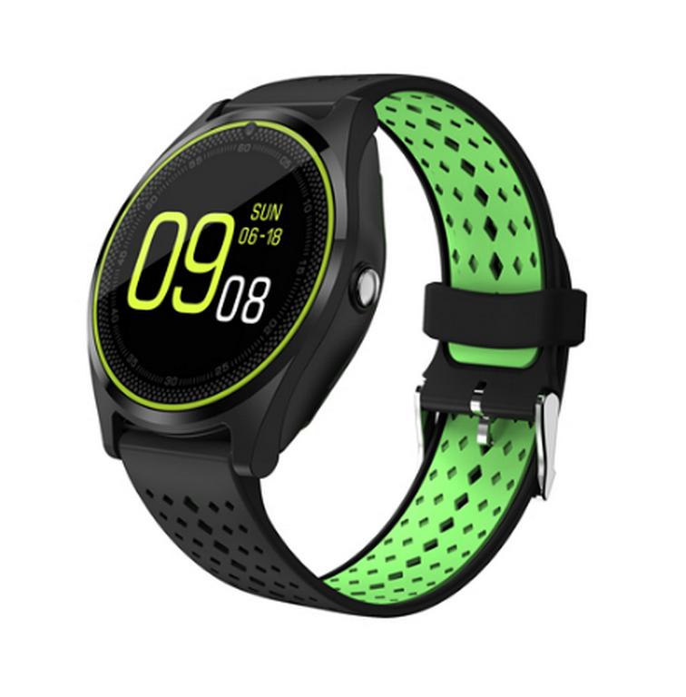 Ziskoun Smartwatch V9- 6 barev SMW38 Barva: Černá- spodní zelená