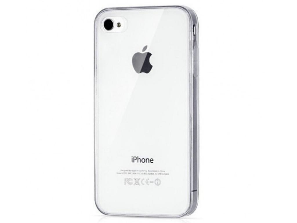 Ziskoun Silikonový zadní kryt pro Apple Iphone 4/4S SK1