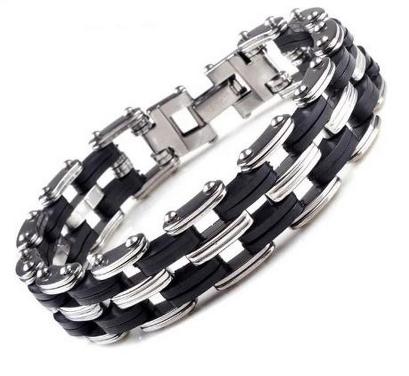 Ziskoun Náramek z chirurgické oceli řetěz Quattro chain ON20 46ad50ade3