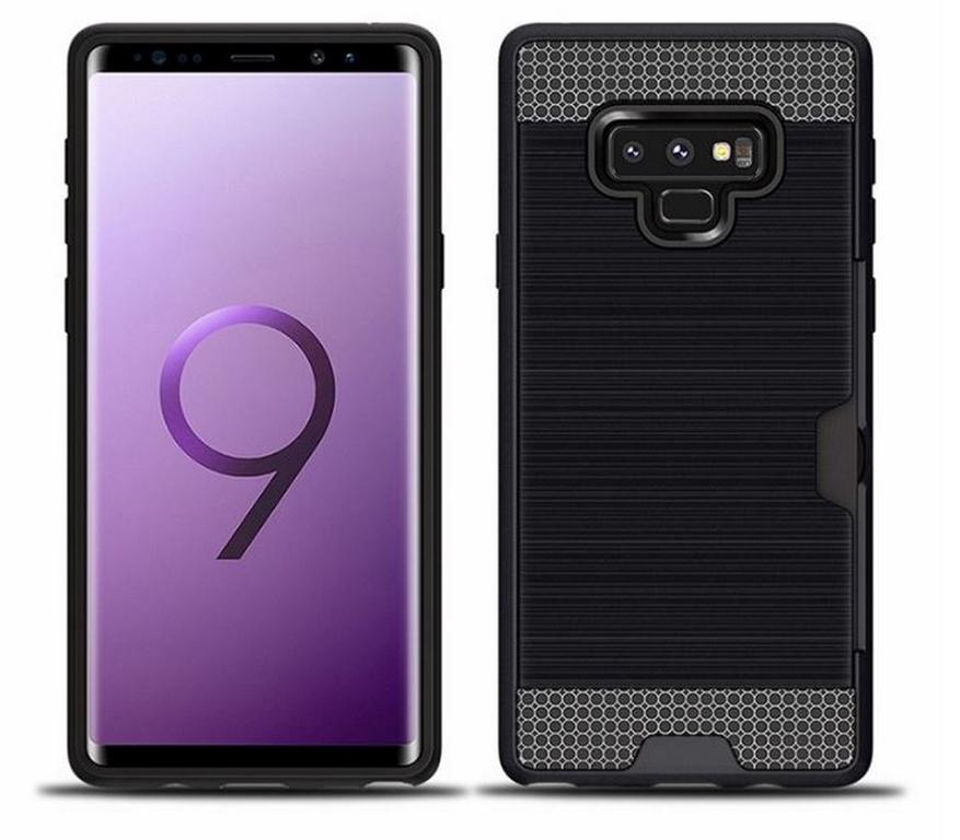 Ziskoun Hybridní odolný obal na Samsung NOTE 9 PZK4 Barva: Černá
