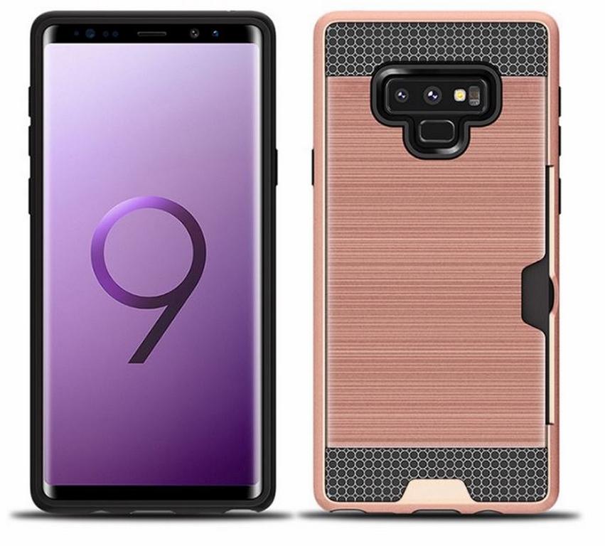Ziskoun Hybridní odolný obal na Samsung NOTE 9 PZK4 Barva: Růžová