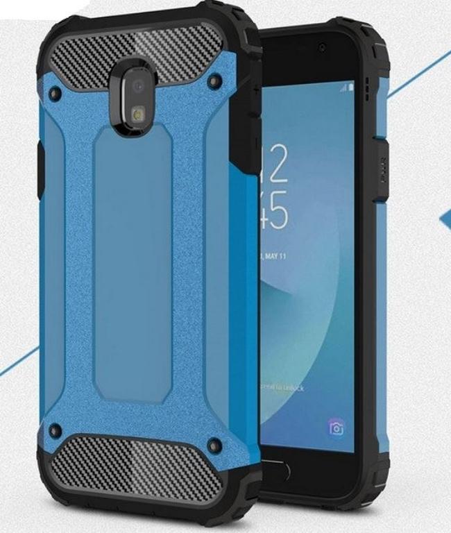 Levně Army extra pevný zadní kryt pro Samsung J3-2017 PZK13 Barva: Modrá