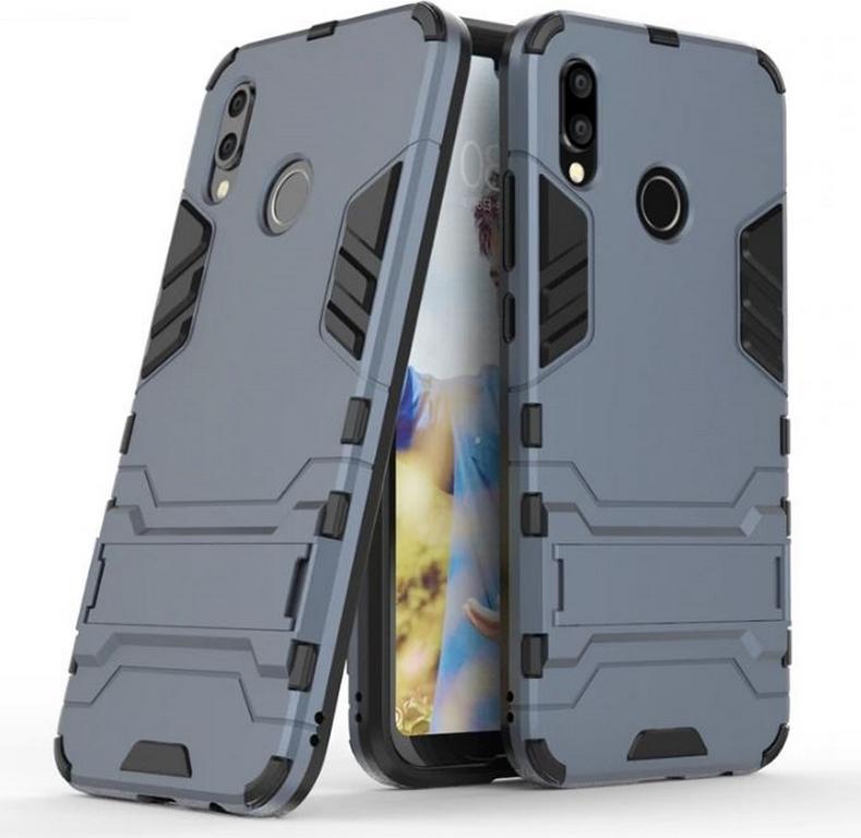 Levně Army pevný zadní kryt se stojánkem pro Huawei P20 Lite PZK25 Barva: Modrá