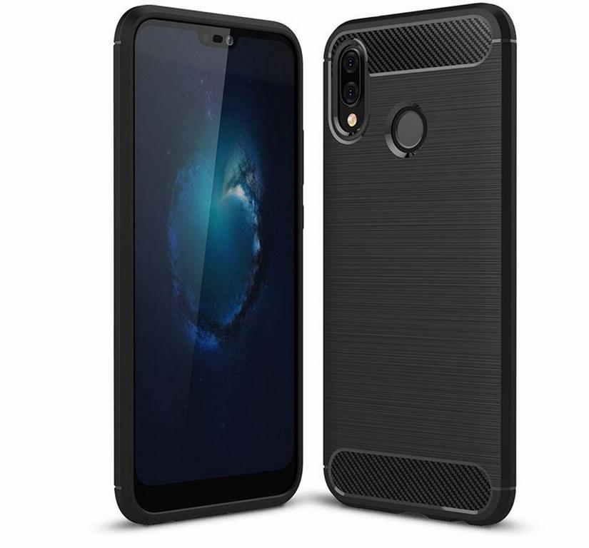 Ziskoun Ochranný zadní kryt pro Huawei P20 Lite PZK56 Barva: Černá