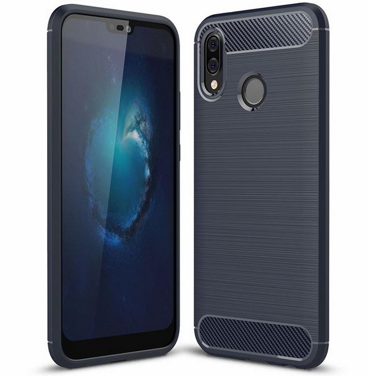 Ziskoun Ochranný zadní kryt pro Huawei P20 Lite PZK56 Barva: Modrá