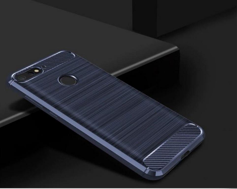 Ziskoun Ochranný zadní kryt pro Huawei Y6 2018 PZK64 Barva: Modrá