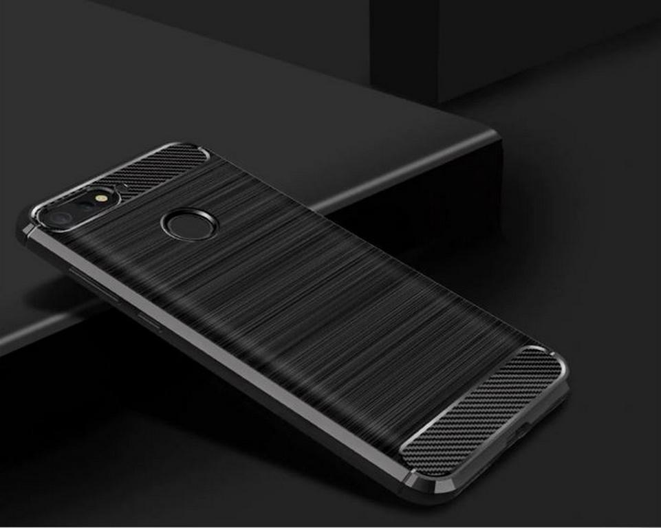 Ziskoun Ochranný zadní kryt pro Huawei Y6 2018 PZK64 Barva: Černá