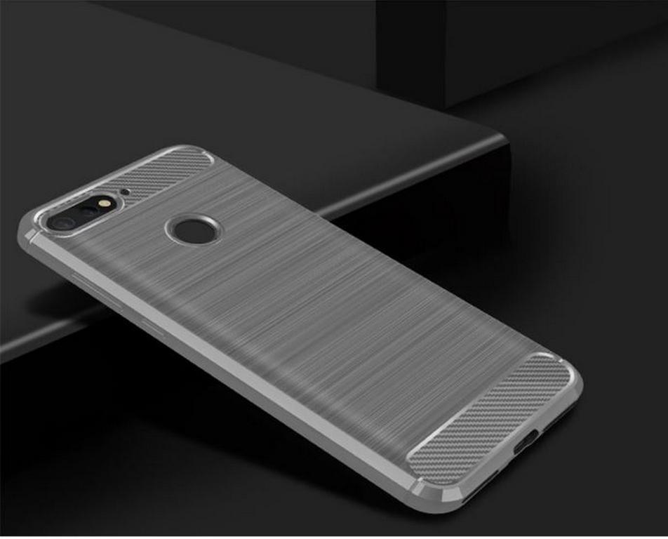 Ziskoun Ochranný zadní kryt pro Huawei Y6 2018 PZK64 Barva: Šedá