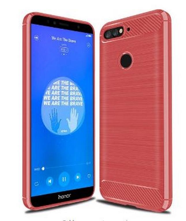 Ziskoun Ochranný zadní kryt pro Huawei Y6 2018 PZK64 Barva: Červená