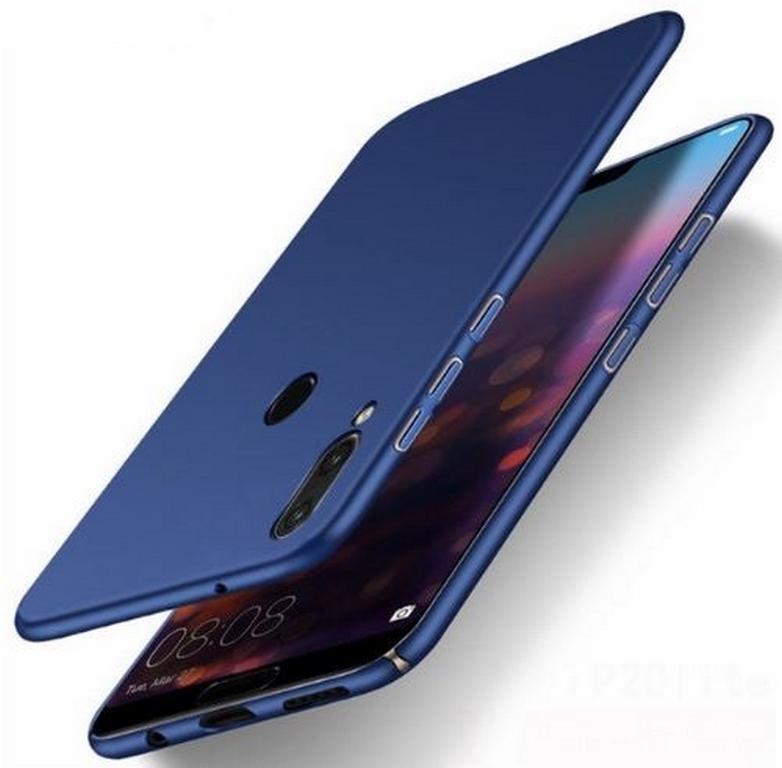 Ziskoun Ultratenký ochranný kryt pro Huawei P20 Lite PZK69 Barva: Modrá