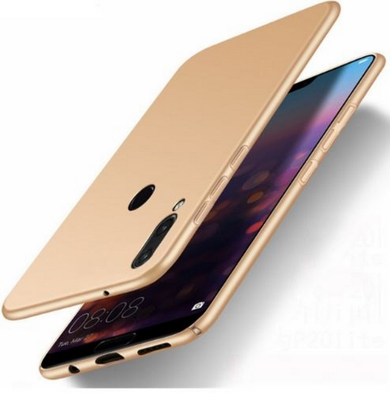 Ziskoun Ultratenký ochranný kryt pro Huawei P20 Lite PZK69 Barva: Zlatá