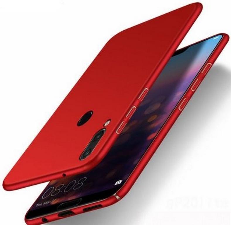 Ziskoun Ultratenký ochranný kryt pro Huawei P20 Lite PZK69 Barva: Červená