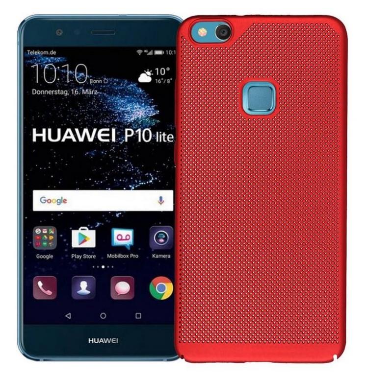 Levně Pevný tenky ochranný kryt pro Huawei P10 Lite PZK81 Barva: Červená
