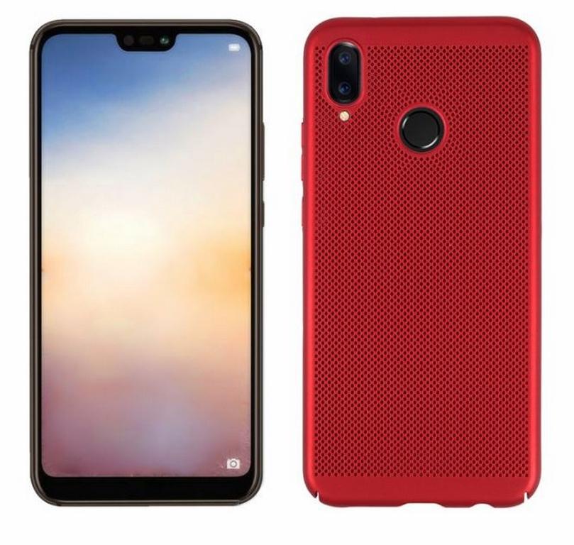 Ziskoun Pevný tenky ochranný kryt pro Huawei P20 Lite PZK83 Barva: Červená