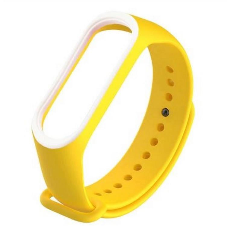 Ziskoun Náhradní řemínek pro Xiaomi Mi Band 3/ Mi Band 4 SWB9 Barva: Žlutá