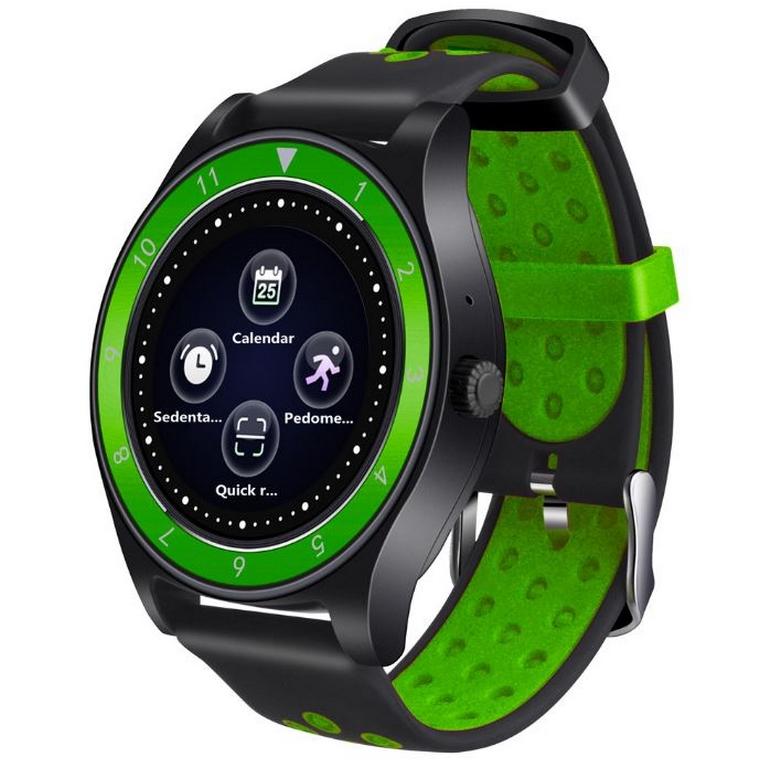 Ziskoun.cz Smartwatch- chytré hodinky R10 SMW40 Barva: Černá- Zelená