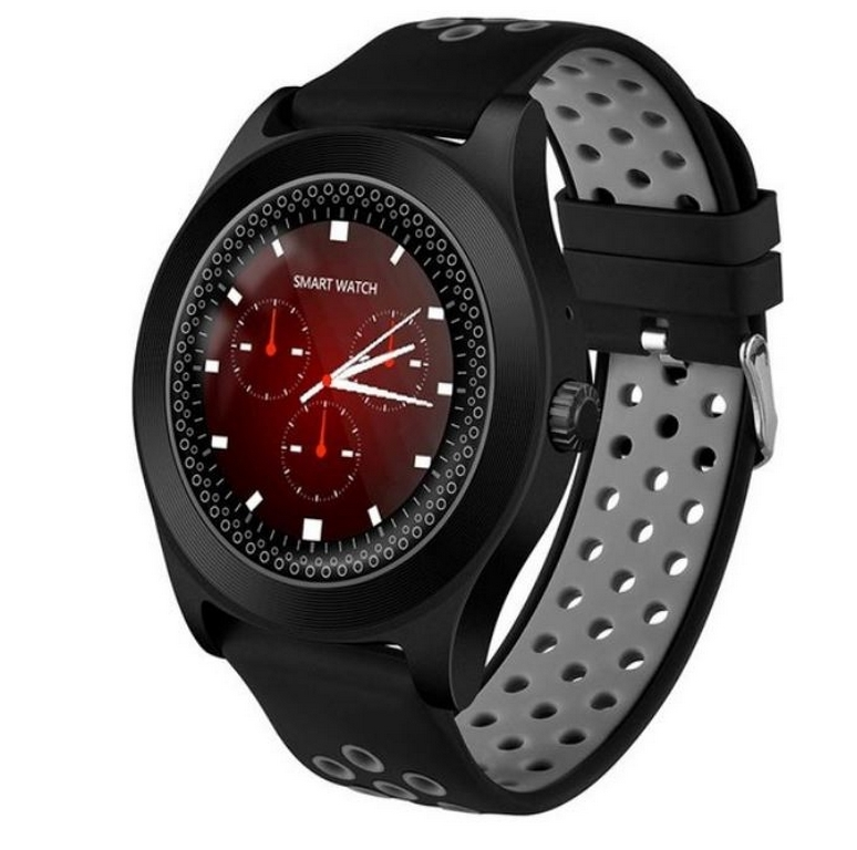 Ziskoun Chytré hodinky TF8 s HD kamerou- 4 barvy SMW41 Barva: Šedá