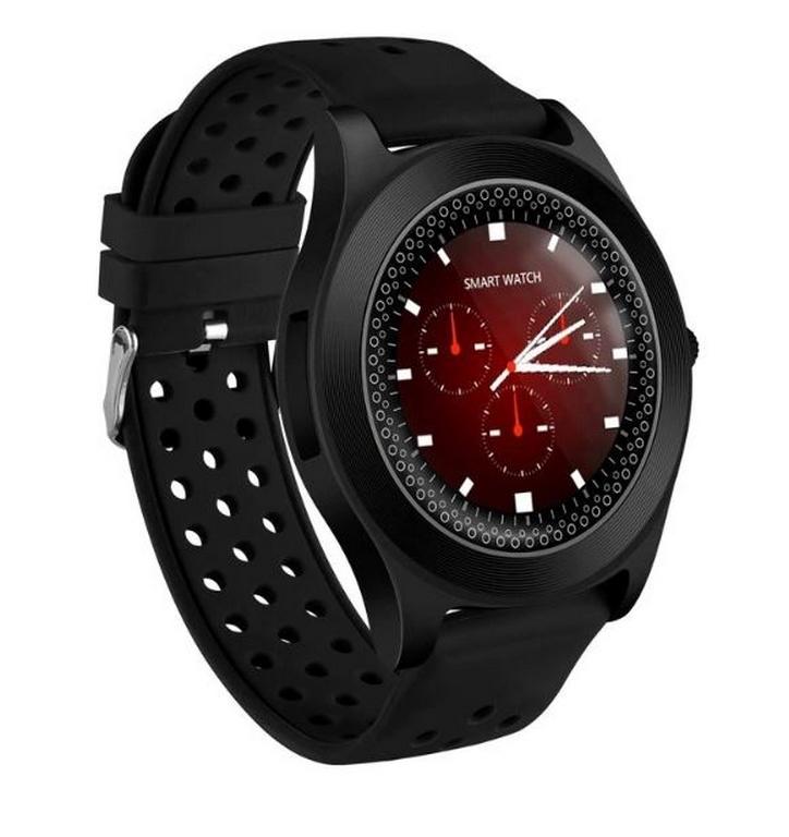 Ziskoun.cz Chytré hodinky TF8 s HD kamerou- 4 barvy SMW41 Barva: Černá
