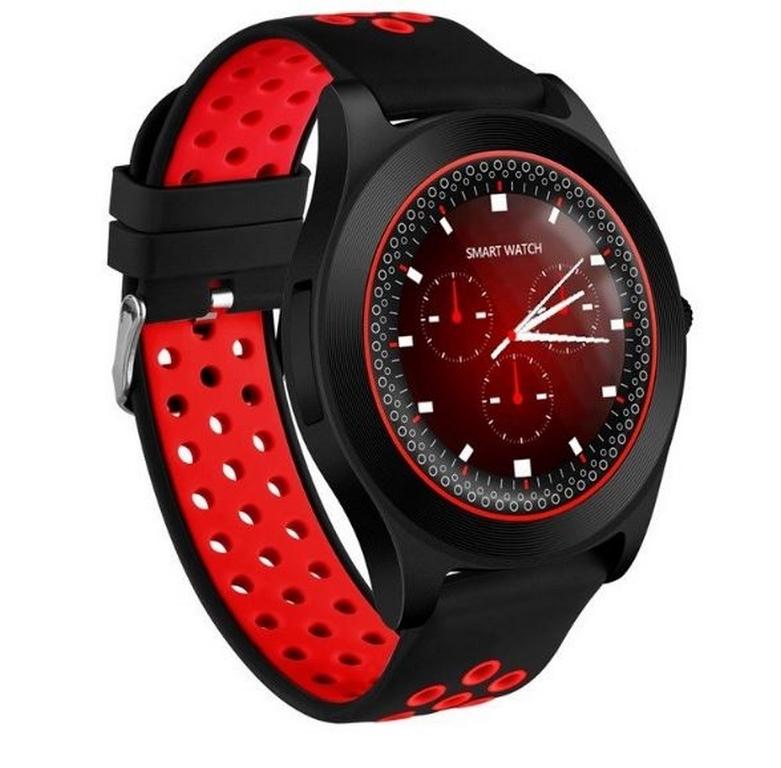 Ziskoun Chytré hodinky TF8 s HD kamerou- 4 barvy SMW41 Barva: Červená