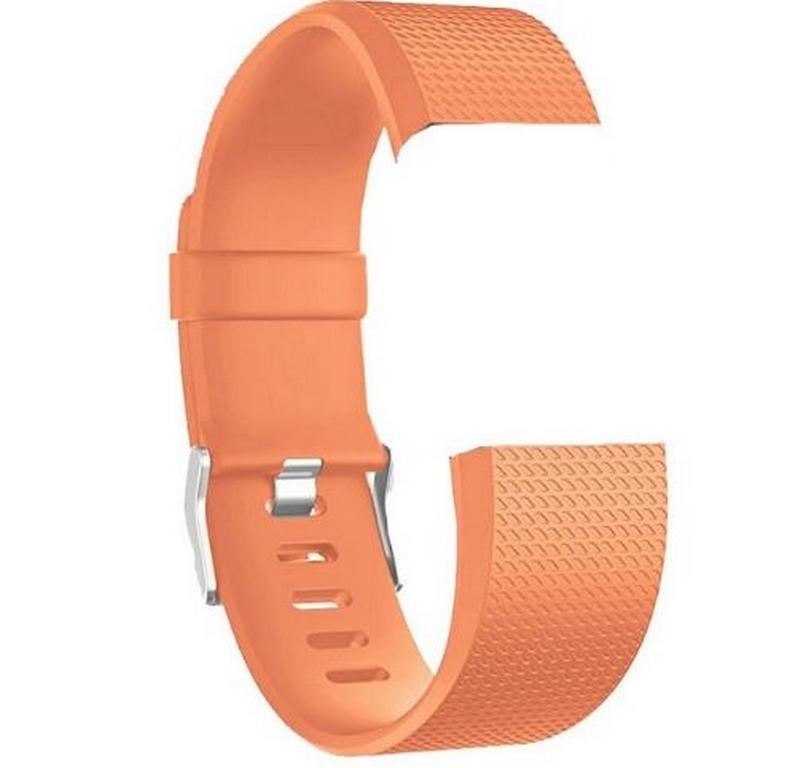 1d583e226 Smartuj Náhradní silikonový řemínek pro Fitbit Charge 2 -hodinkové zapínání  SWB13 Barva: Oranžová