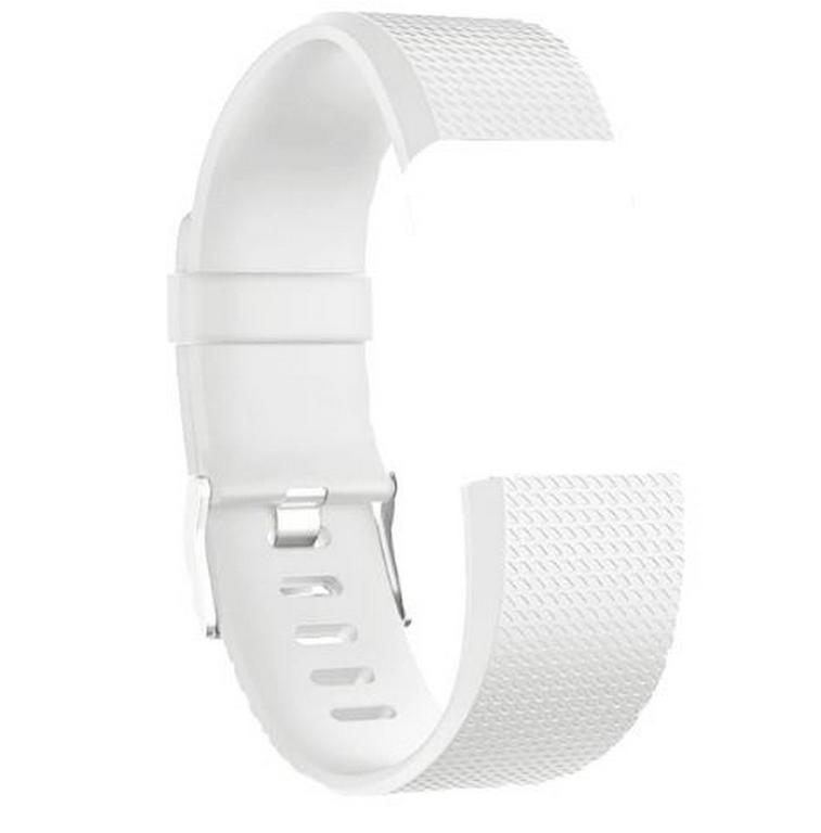 c0c1e0996 Ziskoun Náhradní silikonový řemínek pro Fitbit Charge 2 -hodinkové zapínání  SWB13 Barva: Bílá