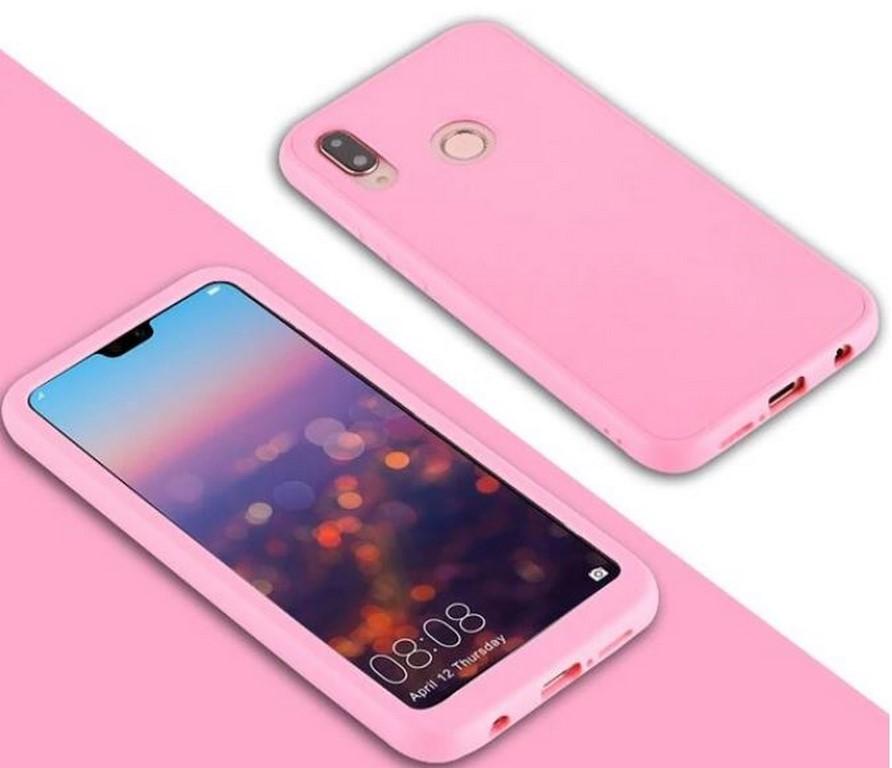 Levně 360° oboustranný kryt na Huawei P10 - 4 barvy Barva: Růžová