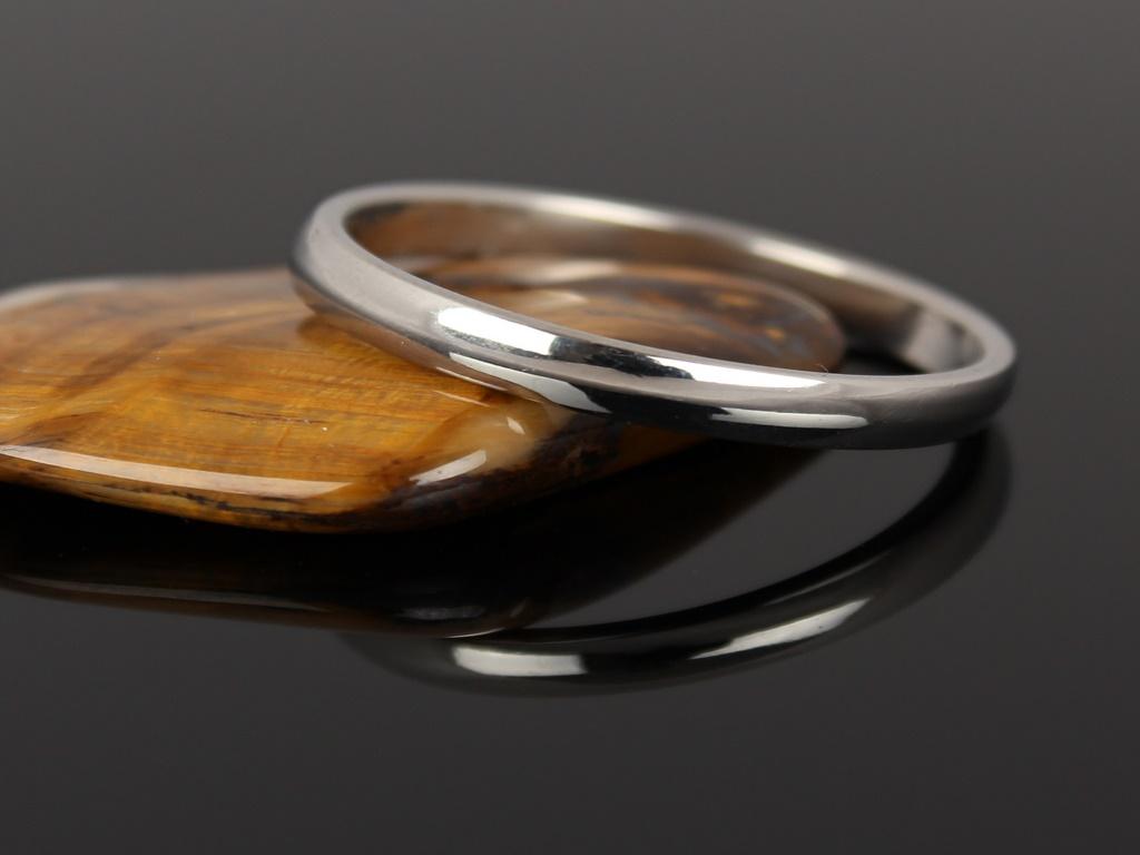 Levně Snubní prsten z nerezové oceli BB005 Průměr: 19 mm