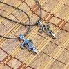 Náhrdelník z chirurgické oceli s lankovým řetízkem- 2 barvy PN181
