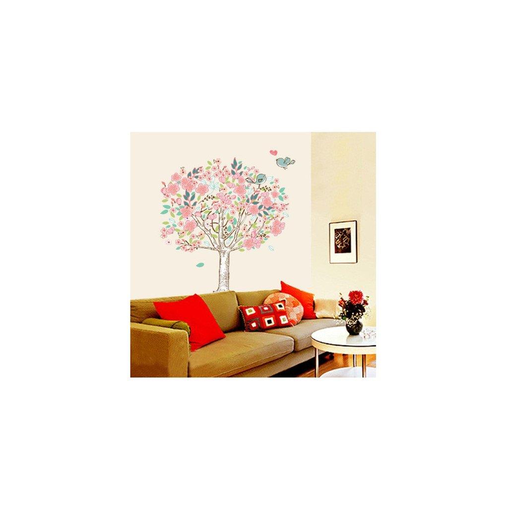 samolepka na zeď Rozkvetlý strom