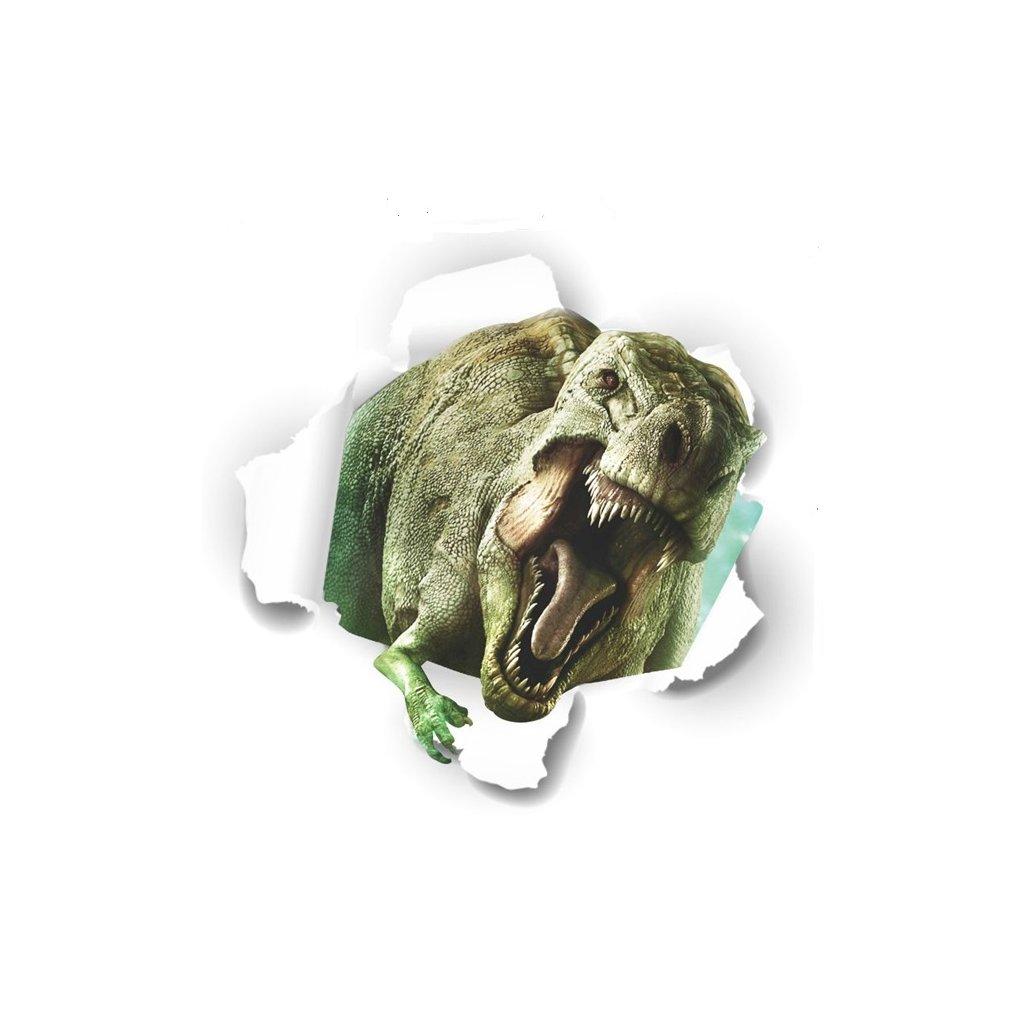 Samolepka Tyranosaurus Jurský park