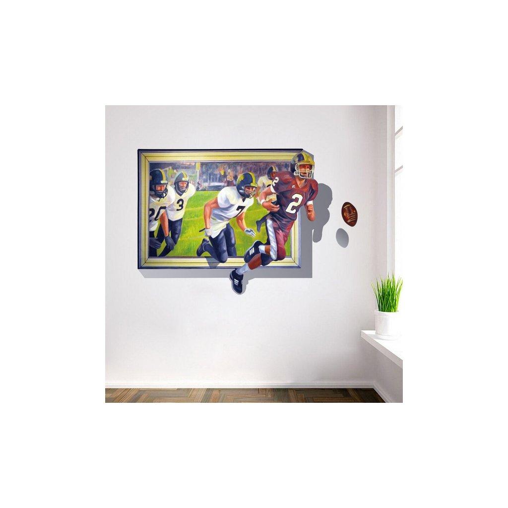 Samolepka na zeď Americký fotbal