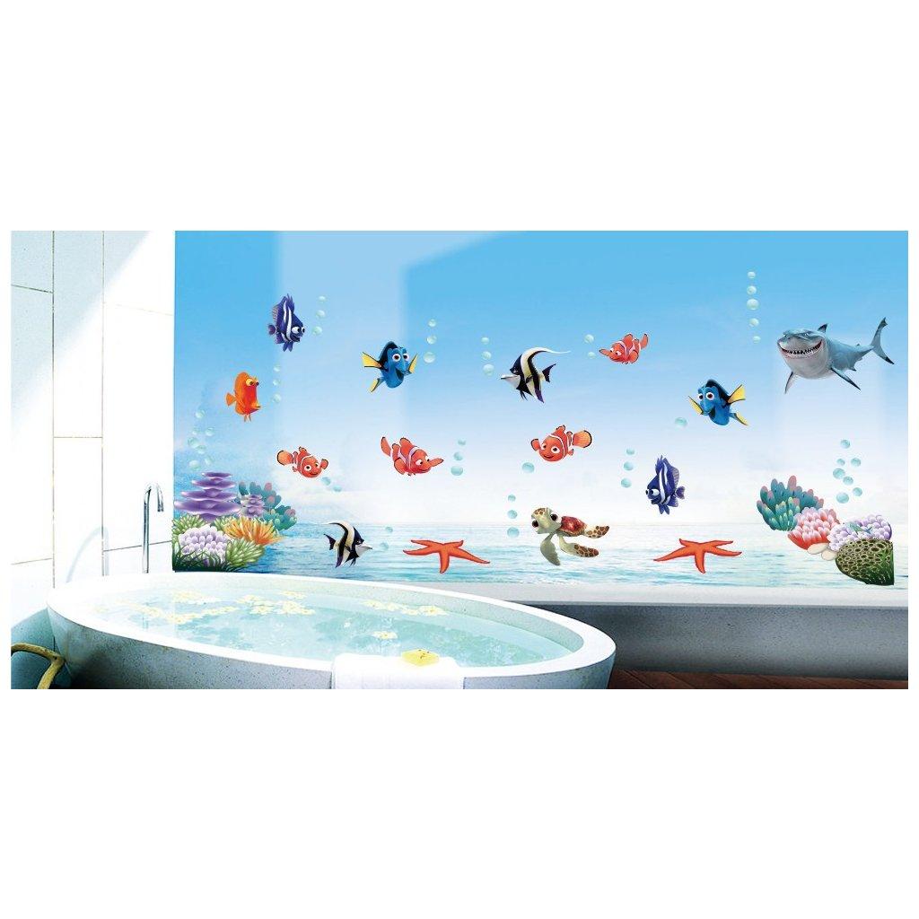 Samolepka Nemo, Dory a přátelé