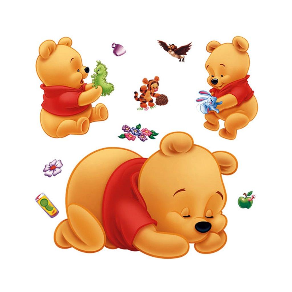 Samolepka na zeď Medvídci Pú