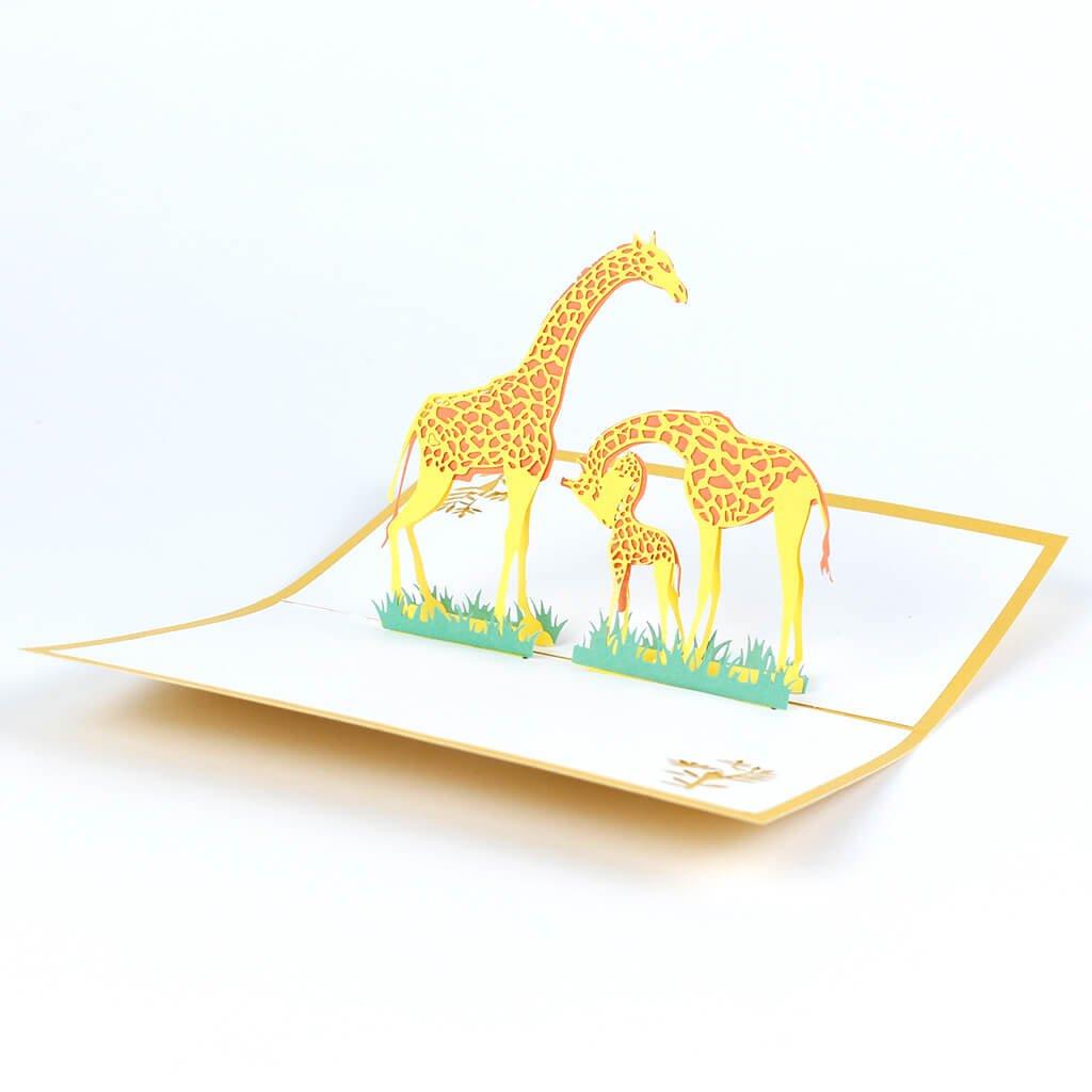 3D přání Žirafy