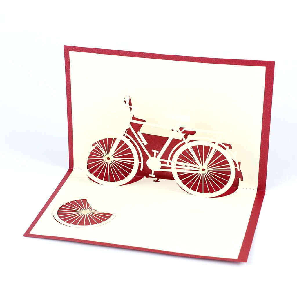 3D přání Jízdní kolo