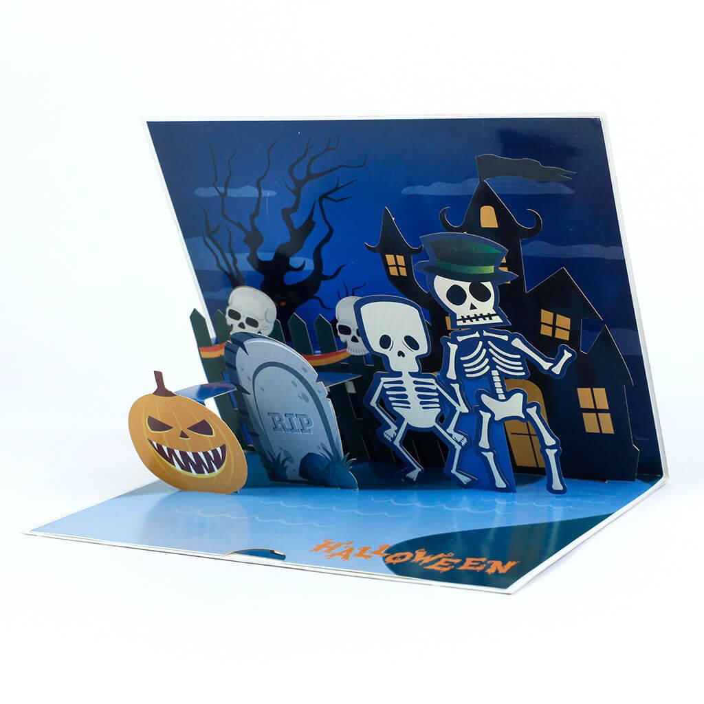 3D přání Halloween