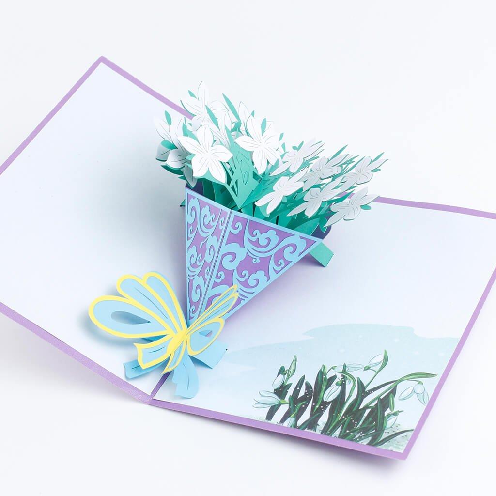 3D přání Sněženky