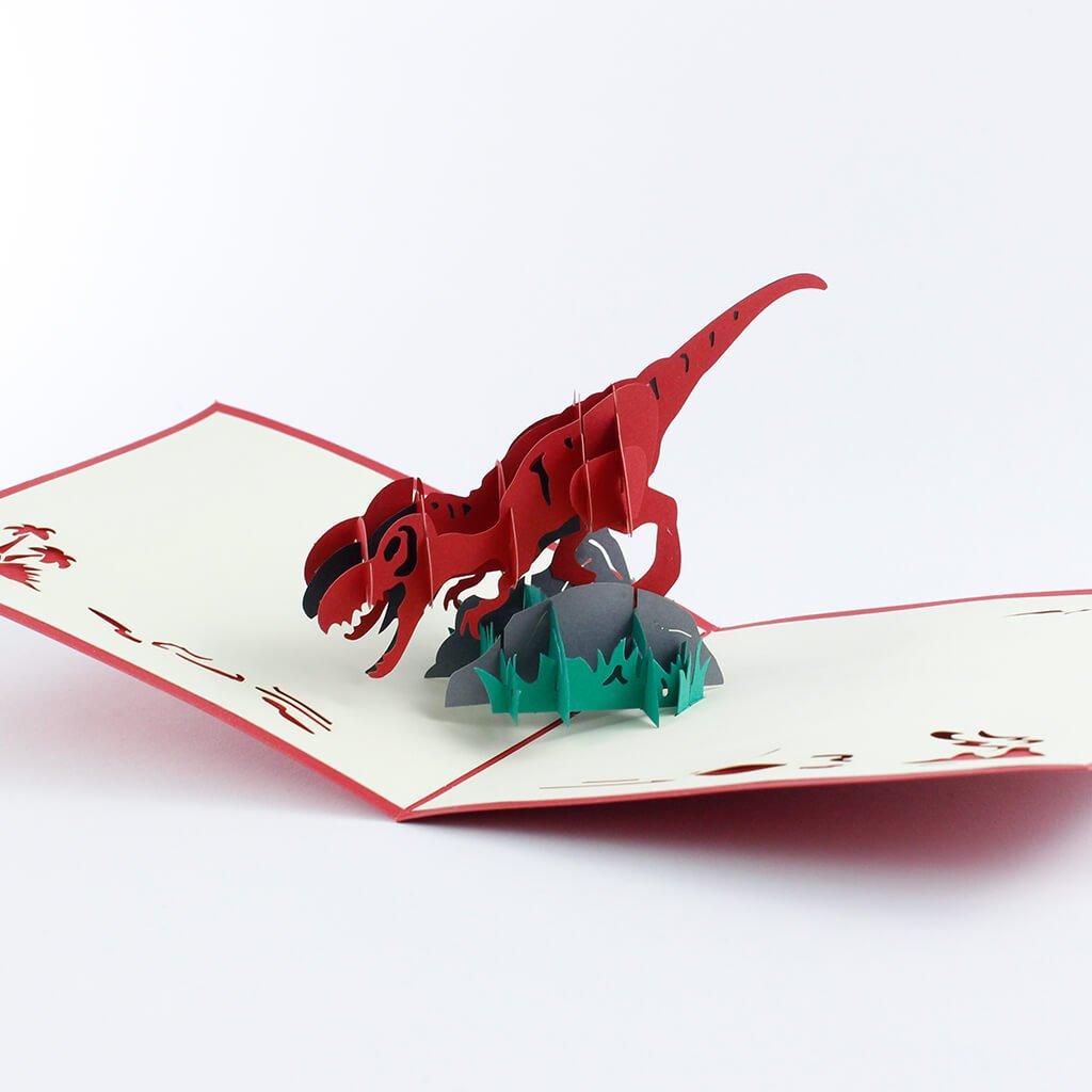 3D přání Dinosaurus