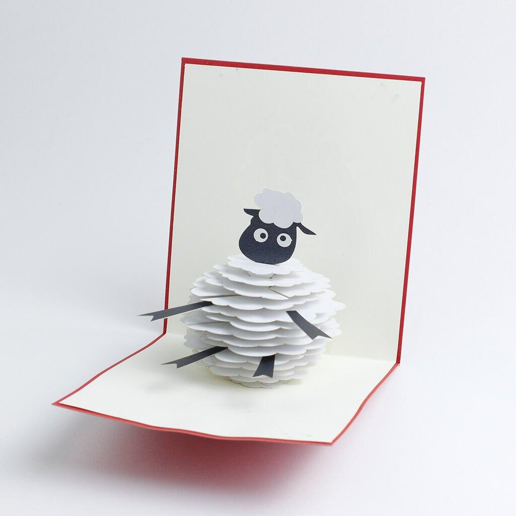 3D přání Ovečka