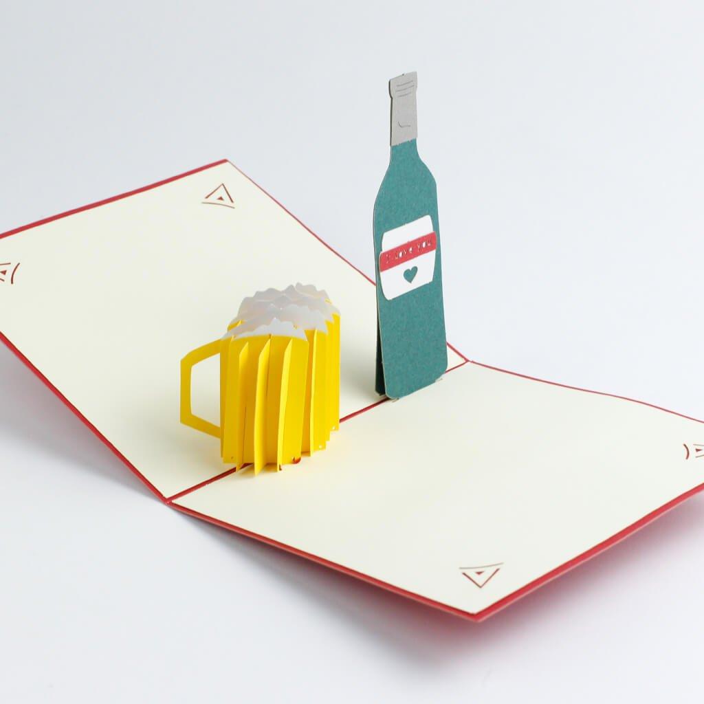 3D přání Pivo