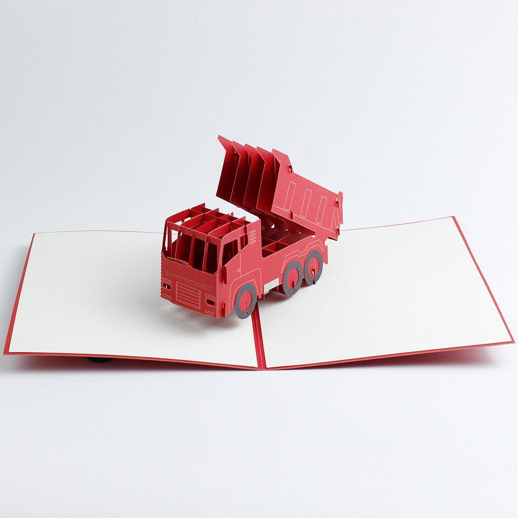 3D přání Červená Tatra