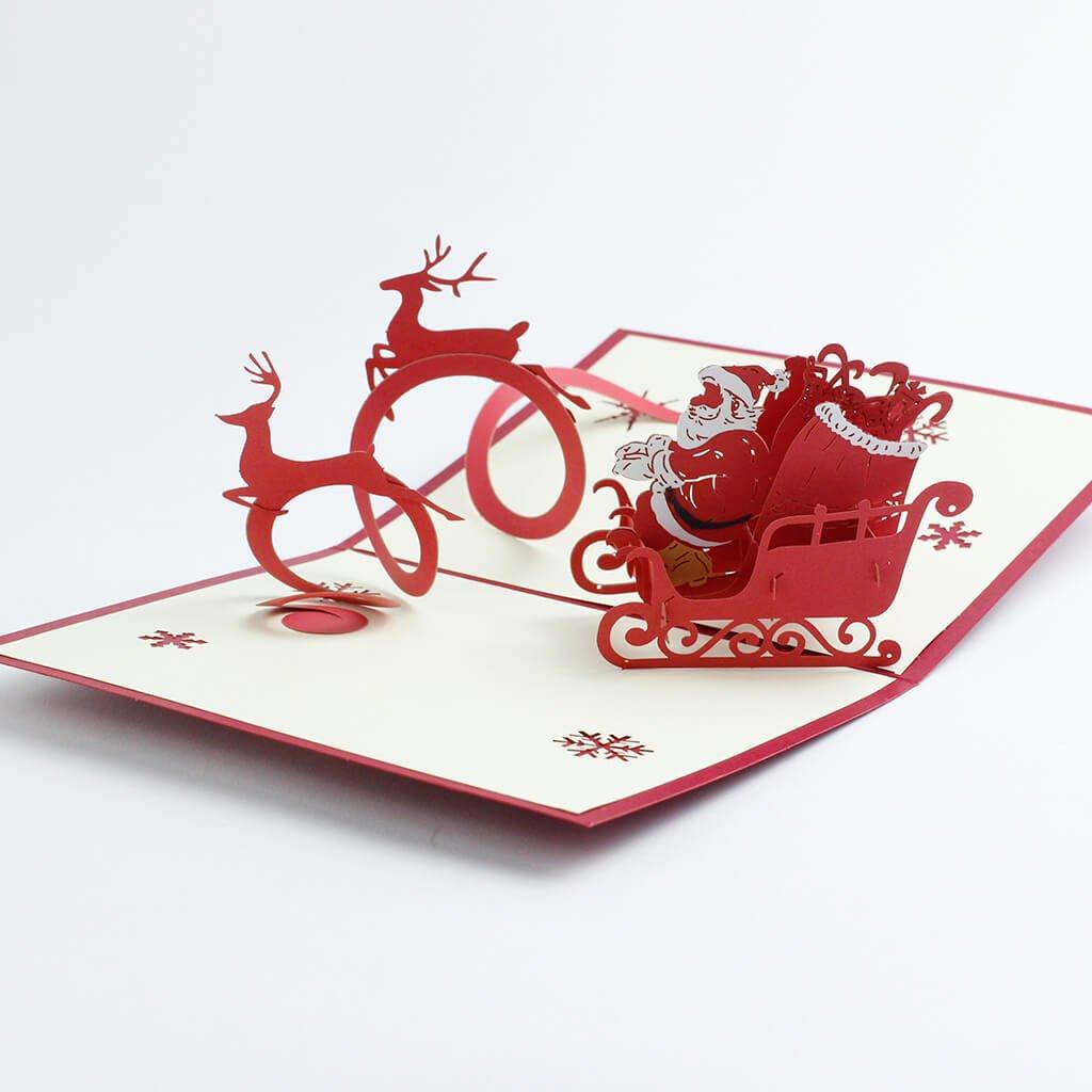 3D přání Vánoce
