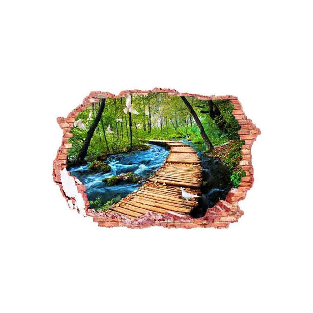 samolepka na zeď Lávka v přírodě