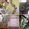 Motýlci magnet a samolepka příklady