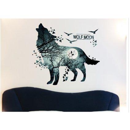 samolepka na zeď Vlk