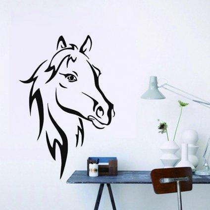 Samolepka na zeď Kůň