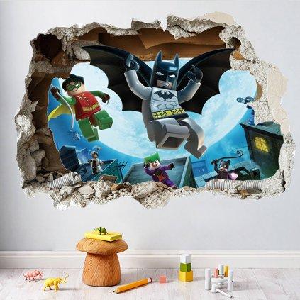 Samolepka na zeď Lego Batman