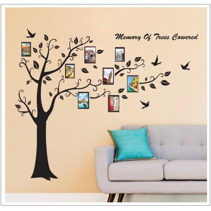 Samolepka na zeď Strom společných vzpomínek